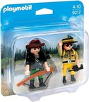 Playmobil Duo Pack Ranger y Cazador