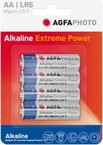 Pilas alcalinas aa agfaphoto pack 4uds