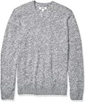 Goodthreads Supersoft Marled V-Neck Sweater Pullover-Sweaters