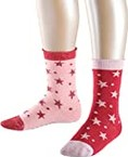 Esprit Dots & Stars Calcetines, Multicolor